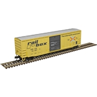 "Atlas Trainman ACF 50'6"" Box Car Railbox [FADED/PATCHED] #32587"