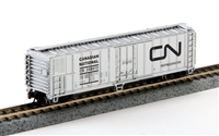 Bachmann Silver N Scale 50' Reefer Canadian National #209872
