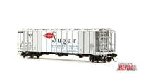 BLMA N Scale Dry-Flo Covered Hopper GACX  Sugar #50116