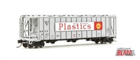 BLMA N Scale Dry-Flo Covered Hopper GACX Shell Plastics #50138
