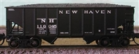 Bluford Shops N Scale 8-Panel 2-Bay Hoppers - NH, 2 Pack