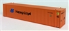 Con-Cor N Scale 45'  HAPAG LLOYD Container (2 Pack) Set 2