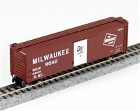 Fox Valley Models N Scale 80916 CUFT BOXCAR Milw Rd 54215