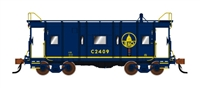 Fox Valley N B&O Blue Pool Service Caboose #2422