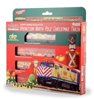 Kato 2015 Operation North Pole Christmas Train Set