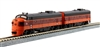 Kato N Scale EMD FP7A & F7B 95A/95B MR Locomotives