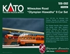 Kato N Scale Milwaukee Road Olympian Hiawatha 9 Car Set