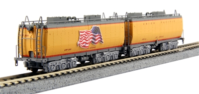 Kato N Scale Union Pacific Water Tender 2-Car Set