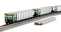 Kato N Scale Bethgon Coalporter 8 Car Set #2 - BN