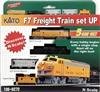 Kato N Scale F7 Freight Train Set Union Pacific