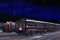 KATO N N Pennsylvania Rail Road Broadway Limited 4 Car Add-On Set