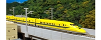 Kato N Scale 923 Dr. Yellow 3-Car Basic Set Powered