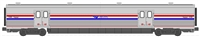 Kato N Scale Amtrak Viewliner II Phase III Heritage Baggage #61058
