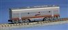 KATO N Scale EMD F7B Santa Fe (Red) Warbonnet, W/ TCS DCC