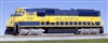 Kato N Scale EMD SD70MAC Alaska Railroad #4006