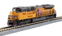 Kato N Scale SD70ACe Union Pacific #9066 W/ TCS DCC