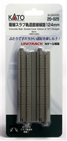 "Kato N Scale Unitrack 20025 | 4-7/8"" Concrete Slab Double Straight 2 PK"