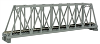 "Kato N Scale Unitrack 20432, 248mm (9 3/4"") Single Track Truss Bridge, Gray"