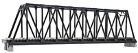 "Kato N Scale Unitrack 20434, 248mm (9 3/4"") Single Track Truss Bridge, Black"