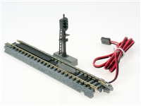"Kato N Scale Unitrack 20605, 124mm (4 7/8"") Automatic Three-Color Signal Track"