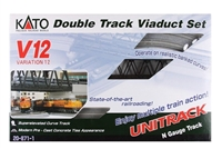 Kato N Scale Unitrack 20871, V12 Double Track Viaduct Set