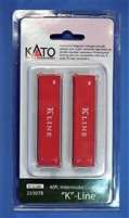 KATO N Scale 40ft Container Two Pack K-Line