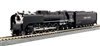 Kato N Scale 4-8-4 FEF-3 Union Pacific #844 - Excursion