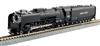 Kato N Scale 4-8-4 FEF-3 Union Pacific #838 - Freight