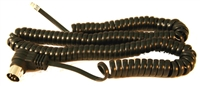 NCE 5 Pin DIN Plug Coiled Cable