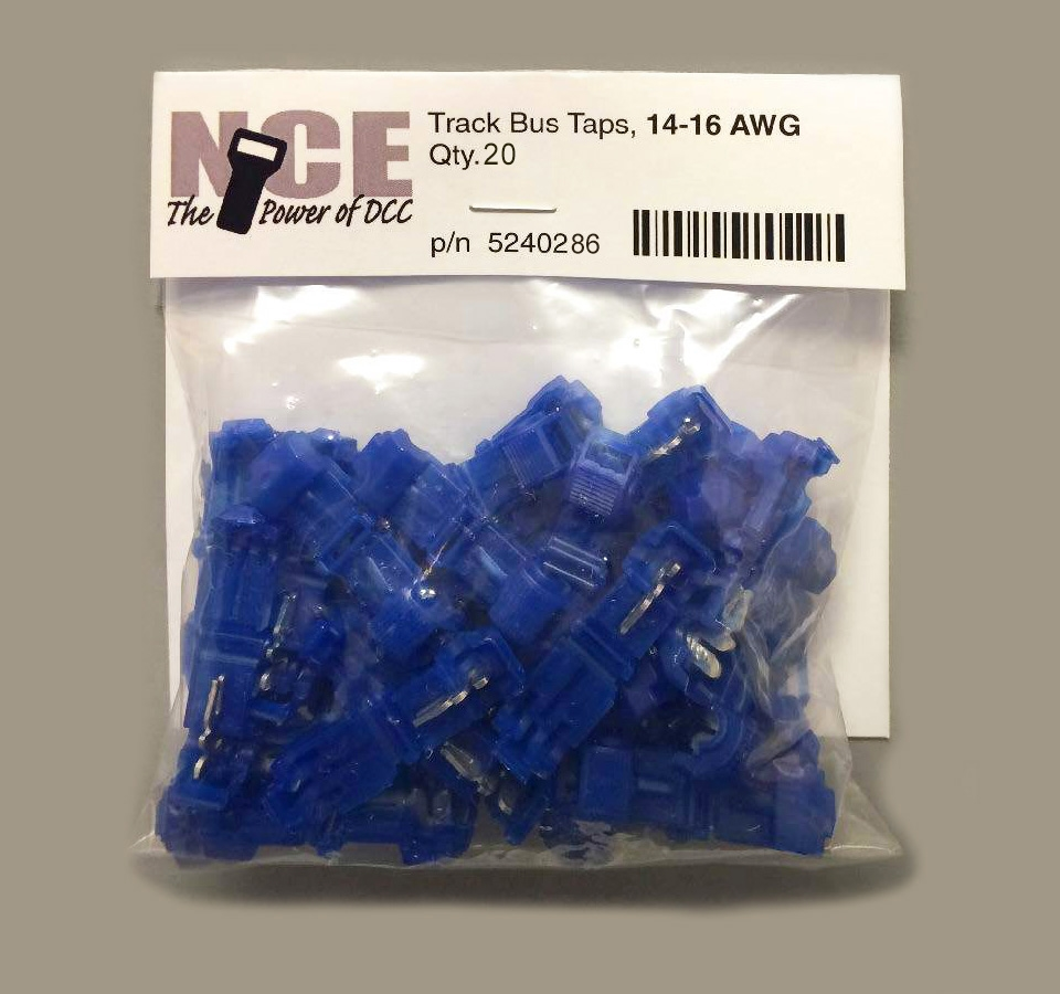 Nce Tntb20 Track Bus Taps Blue Dcc Wiring