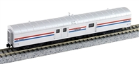 Rapido N 73′ Smooth Side Express-Baggage - Amtrak #1004