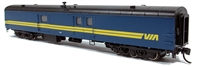 Rapido N 73ft Smooth Side Express-Baggage - Via Rail #9645