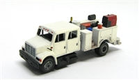 "Showcase Miniatures N ""I"" Type Crew Cab Equipment Service Truck"