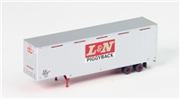 Trainworx N 40' Drop Frame Trailer - L&N #206614