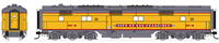 "Broadway Limited N Scale EMD E6 B-unit, UP/C&NW SF-6, ""City of San Francisco"", Paragon3 Sound/DC/DCC"