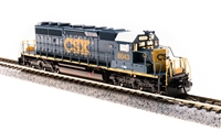 Broadway Limited 3711 N Scale SD40-2 CSX #8043