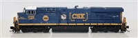 Fox Valley N Scale ES44AC CSX Safety Train #3099