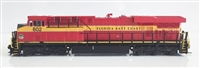 Fox Valley N Scale ES44C4 Florida East Coast #821