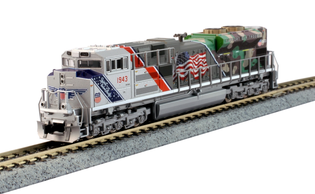 kato n scale sd70ace spirit of the union pacific 1943