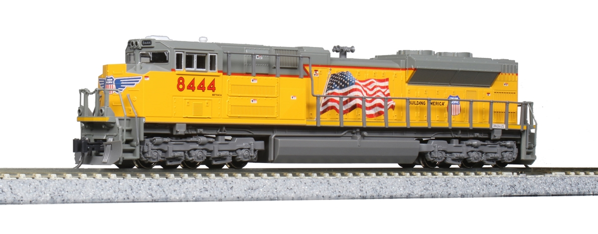 Kato N Scale Emd Sd70ace Union Pacific Flag 8444 Track Wiring