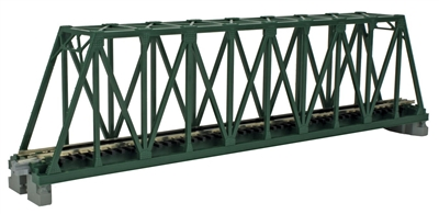 Kato 20433 N Scale Unitrack 9 3//4/'/' Single Truss Bridge Silver 1Pc NEW