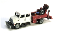 "Showcase Miniatures N ""I"" Type Crew Cab MOW Truck"